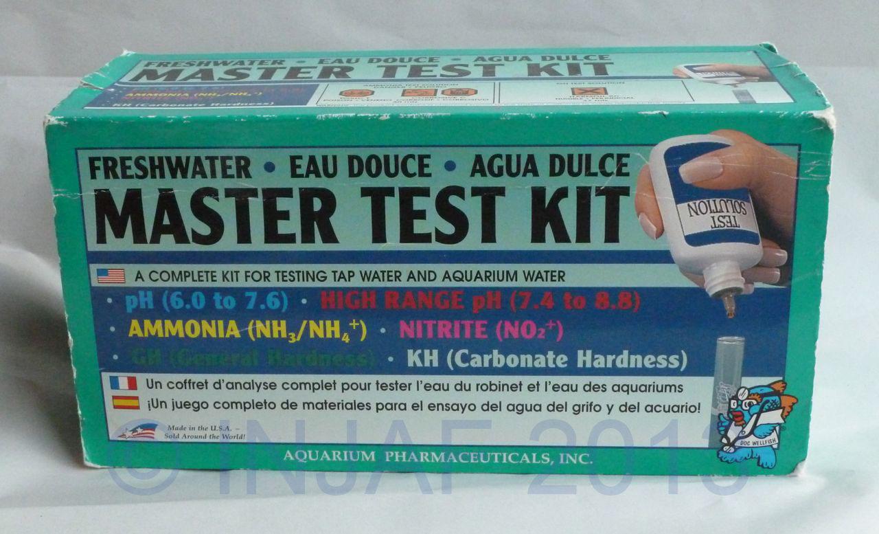 Beginner 39 s guide to aquarium equipment injaf for Fish tank test kit
